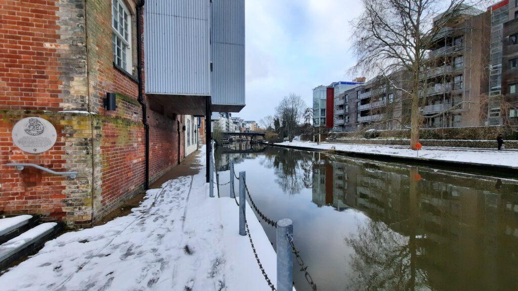 River Wensum, Near Carrow Road, Norwich