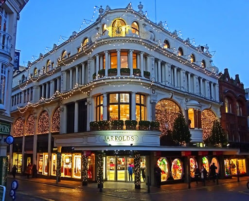 Jarrolds Department Store Christmas Lights Norwich