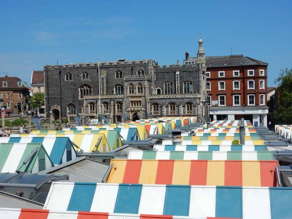 Norwich Market Roofs, City Centre